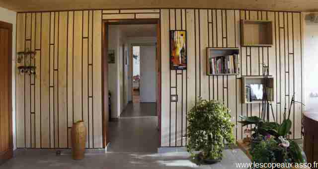 Habillage Bois Interieur : Decoration Mur Interieur en Bois le Bois en D?coration